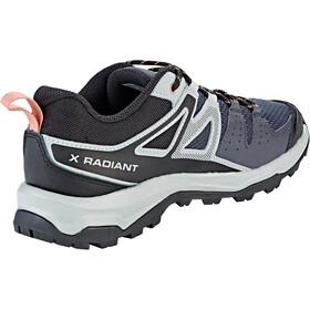 Salomon X Radiant Chaussures Femme, ebony/quarry/tawny orange
